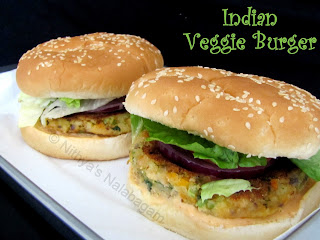 Indian Veggies Burger
