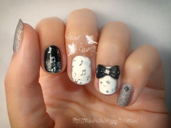 Nail art musica