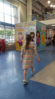 Dora sing along booth