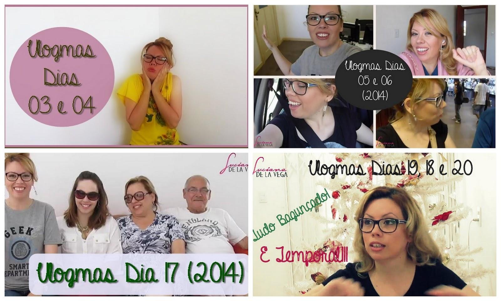 imagens dos vídeos, vlogmas, dezembro todo dia, vlog, Luciana De La Vega