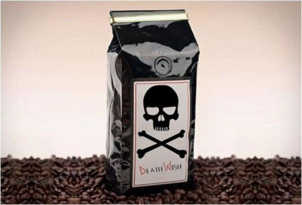 Death Wish, Kopi Dengan Kandungan Kafein 200%