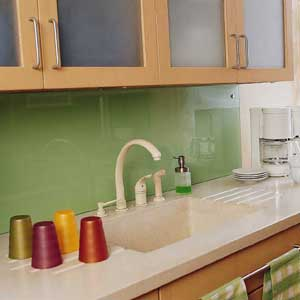 inspired whims: creative and inexpensive backsplash ideas