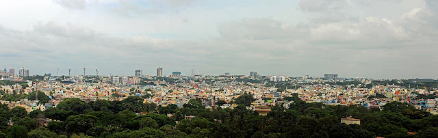 bangalore city panorama