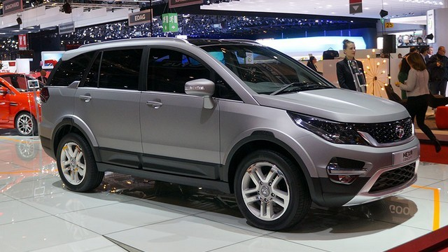 2016 New Unveiled Tata Hexa Luxury SUV Car