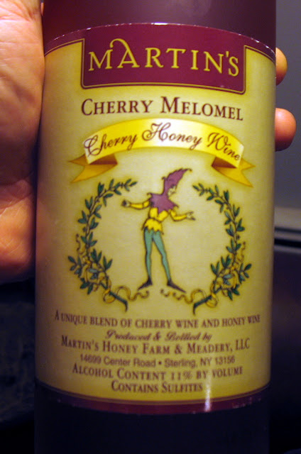Bottle of Martin's Cherry Melomel