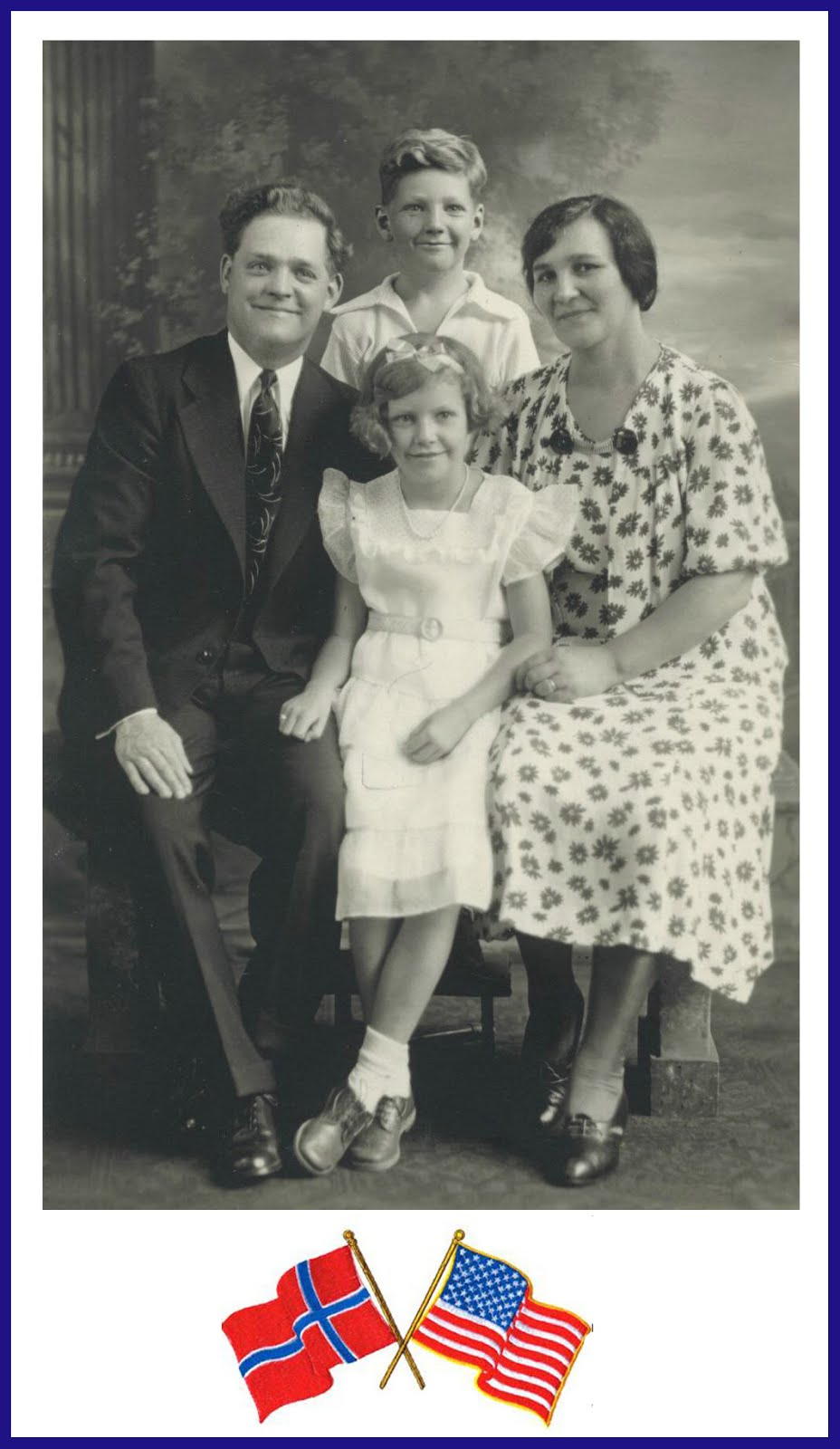 The Sevald Family Paul and Dagmar Arnold and Grace