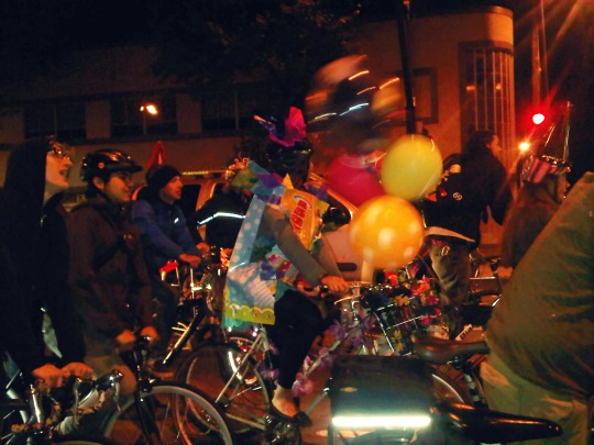east bay bike party: happy 2 yrs recap