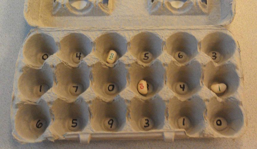 Bookish Ways In Math And Science Monday Math Freebies Egg Carton