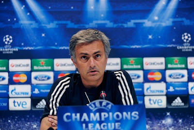 Mourinho at press coference before Manchester United match