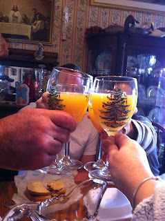 Mimosas - A Christmas Breakfast Tradition
