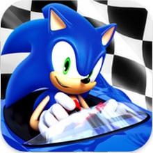 Game Sonic All-Stars dua xe nhu Zing Speed tren Iphone