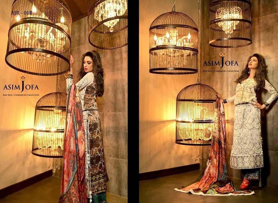 AsimJofaWinterCollection2014 wwwfashionhuntworldblogspotcom 011 - Asim Jofa Winter Collection 2014