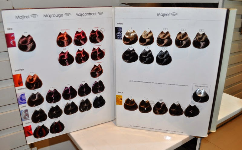 loreal colours chart: Healthy hair color at regine s salon by l oreal professionnel