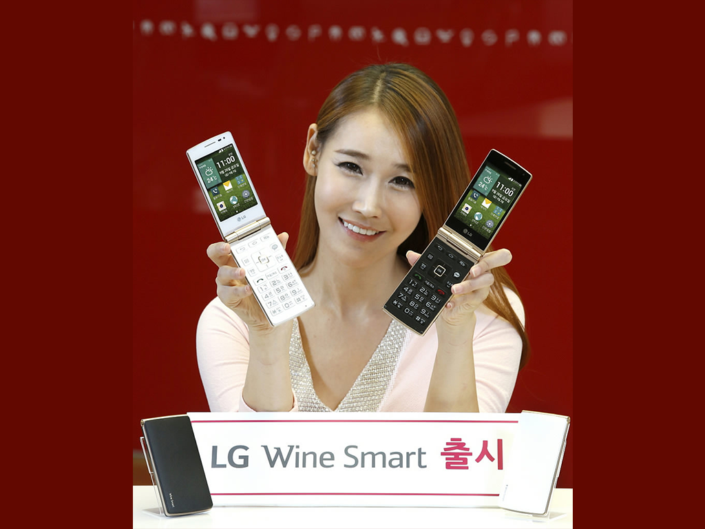 LG Wine Smart, A Flip Style Smartphone, Launched in Korea