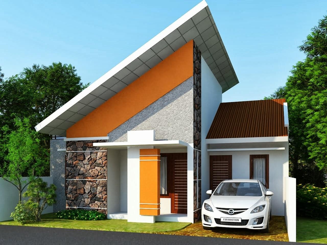 Contoh Desain Rumah Mungil Minimalis Gambar Desain Rumah Minimalis