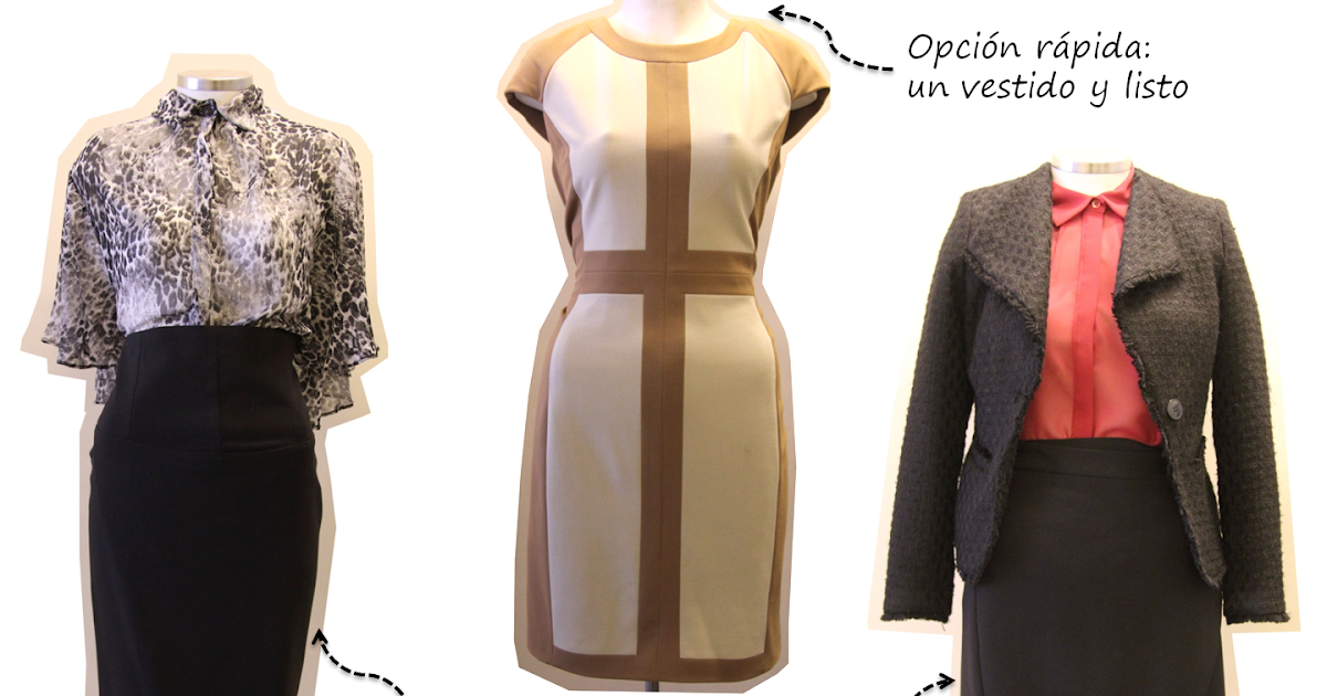 Monita de seda looks de oficina for Outlet oficina