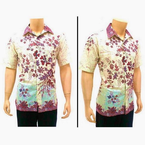Baju Hem Batik Pria BP3851