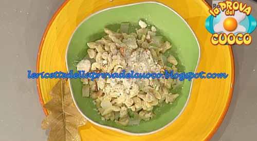 Spatzle alle castagne conditi con mosaico d'autunno ricetta Prova del Cuoco