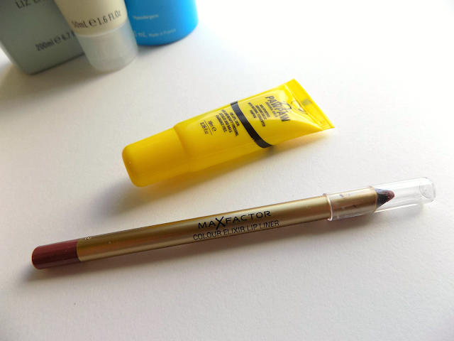 Max Factor lip liner & Dr PawPaw lip balm
