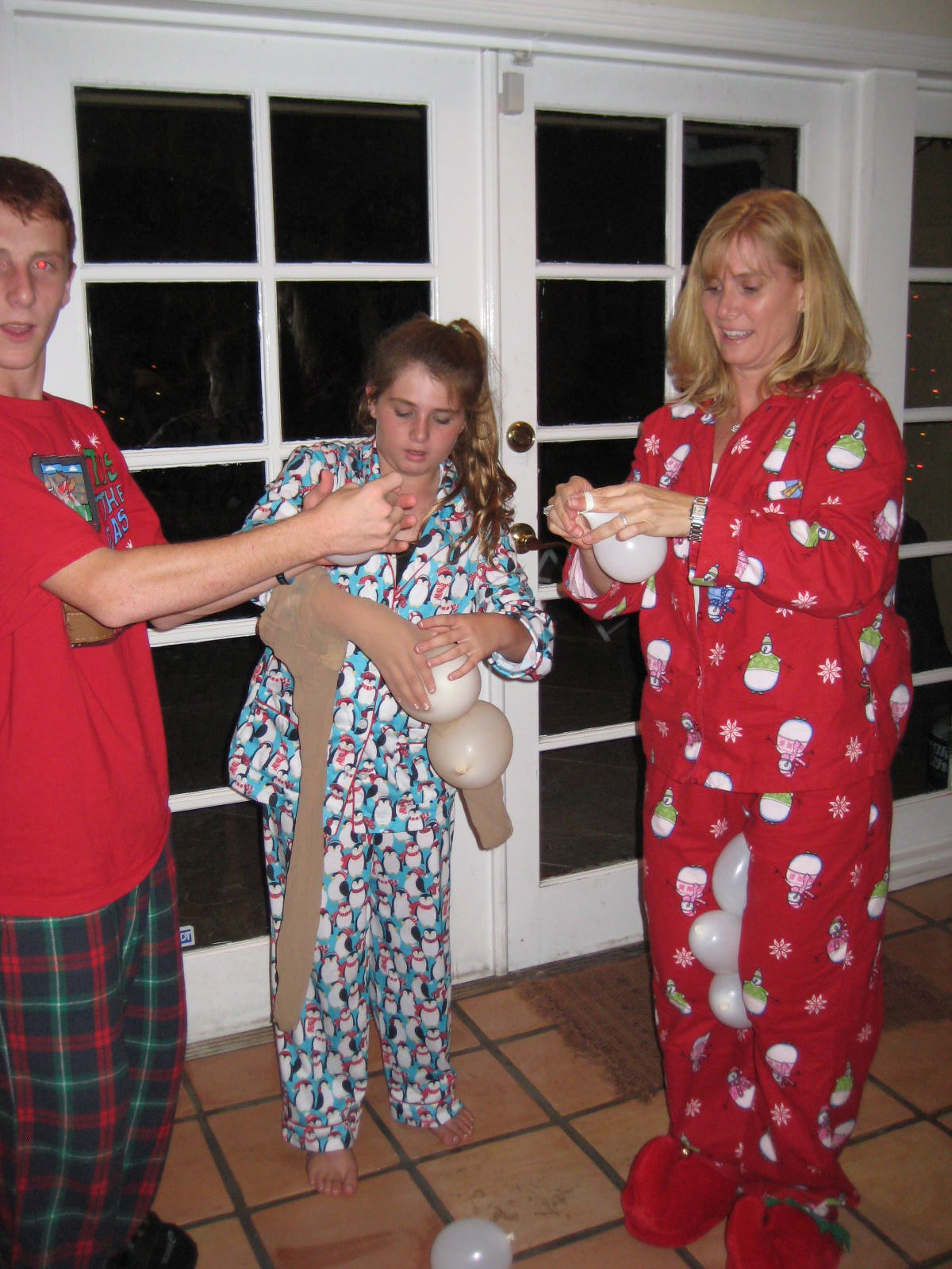 christmas pajama party invitations words