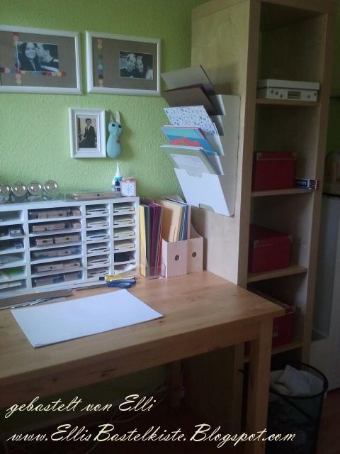elli 39 s bastelkiste mein arbeitsplatz und projektvorschau. Black Bedroom Furniture Sets. Home Design Ideas