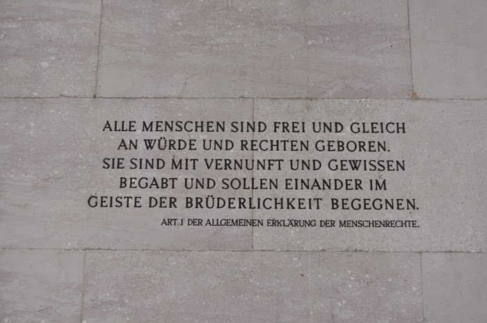 Austrian Parlament Inscription