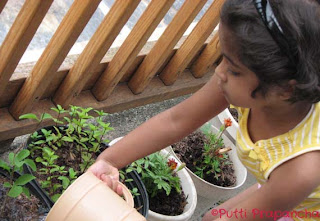 gardening with kids earth day