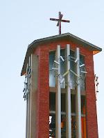 Campanar de l'església de Santa Maria d'Oló. Autor: Carlos Albacete