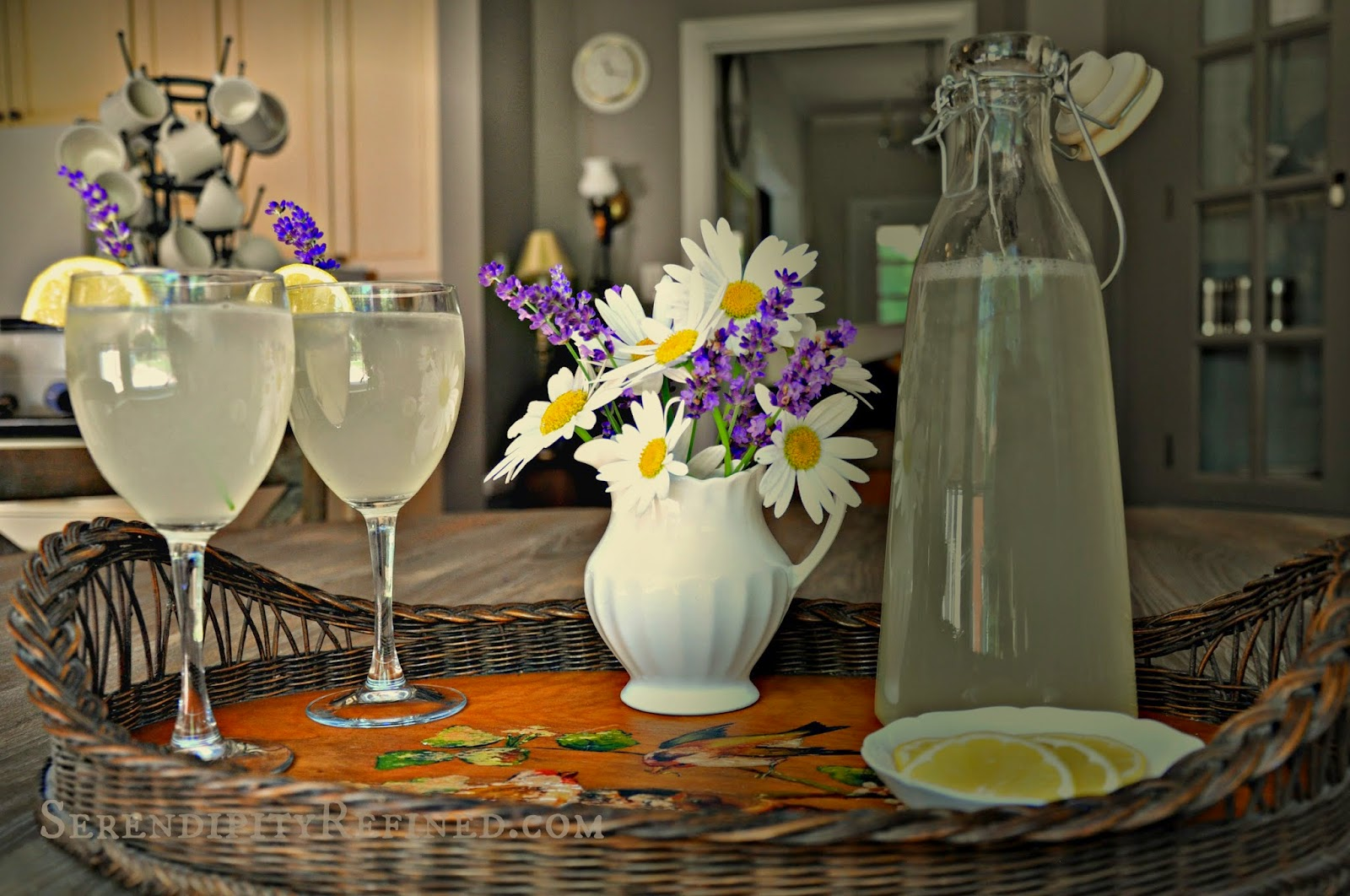 Serendipity Refined Blog: How to Make Lavender-Infused ...