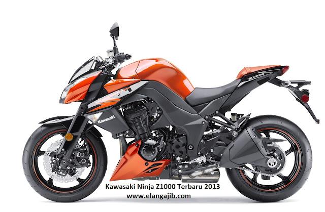 Harga Kawasaki Ninja Z1000 dan Spesifikasi Terbaru 2013