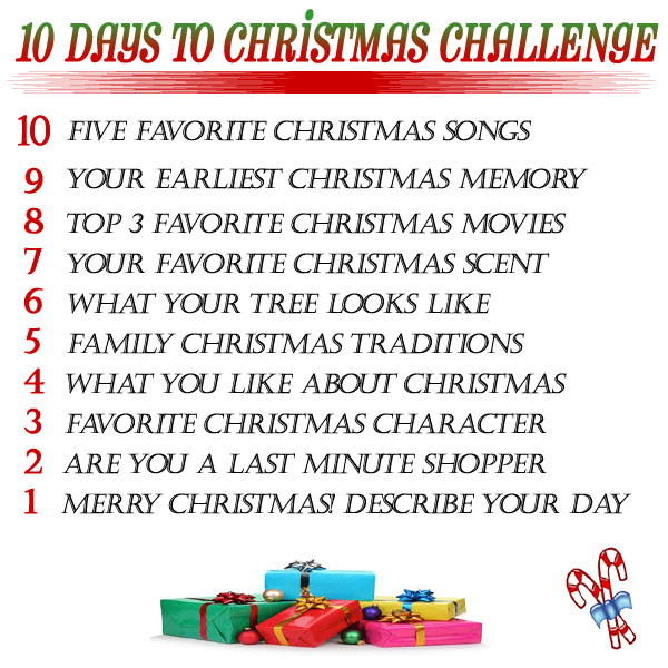 10 days to christmas challenge day 10