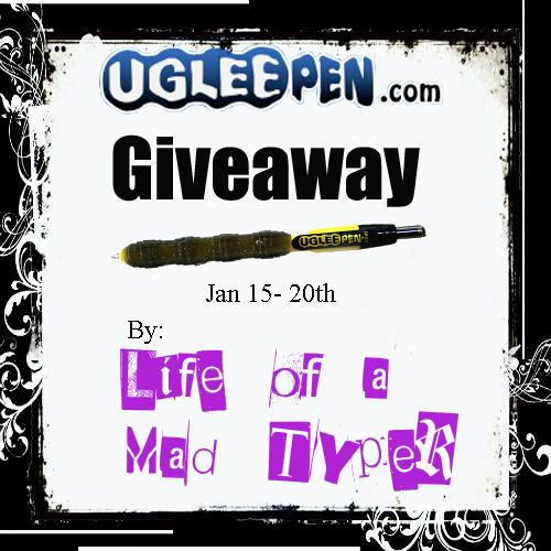 Uglee pen Giveaway 1/15-1/20