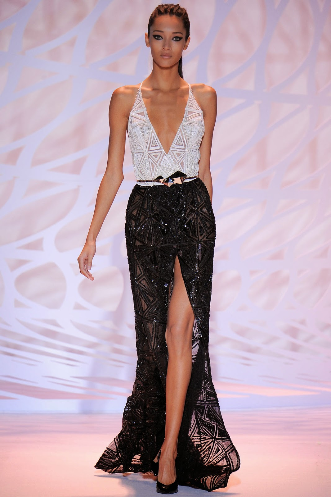 Sashes and tiaras miss lebanon 2014 pageant gowns for O couture fashion