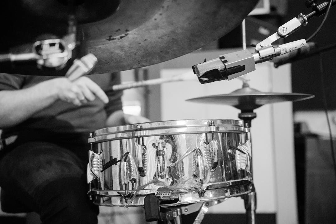 Birmingham recording studio Park Studios JQ | drums