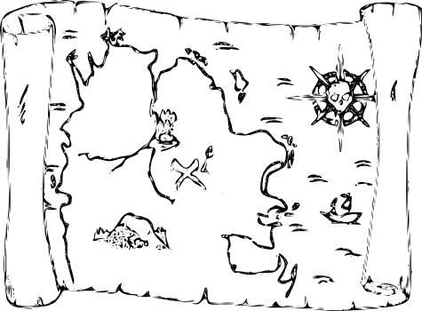 вроде карты сокровищ: