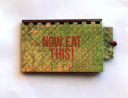 Handmade 'Now Eat This!' Blank Recipe Book for your Personal Recipes $8.99 + shipping