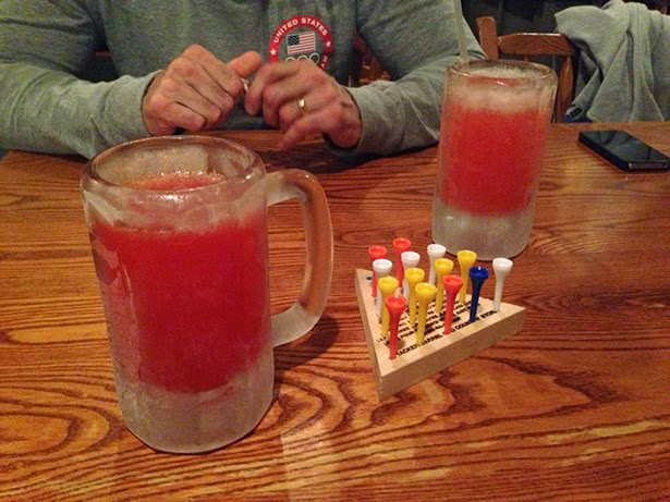 Strawberry lemonade at Cracker Barrel