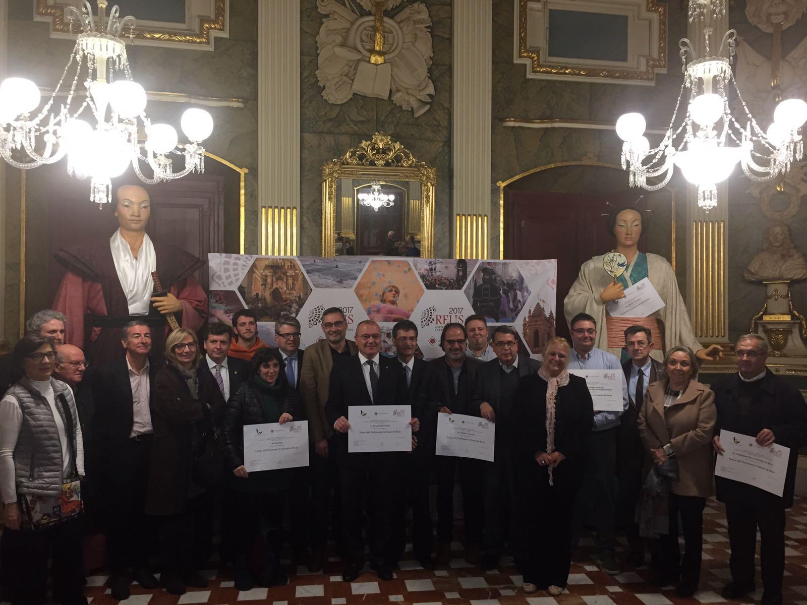 Capitalitat de la Cultura. Acte al Palau Bofarul de Reus (13-12-2016)