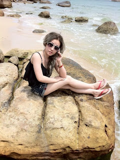 Mikie Jung Khmer Chinese beautiful girl 1