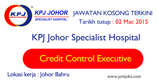 Jawatan Kosong KPJ Johor Specialist Hospital 2015 Terkini