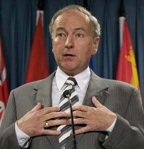 Canadian Minister of Justice Rob Nicholson