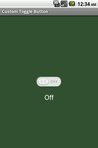 Android Custom Toggle