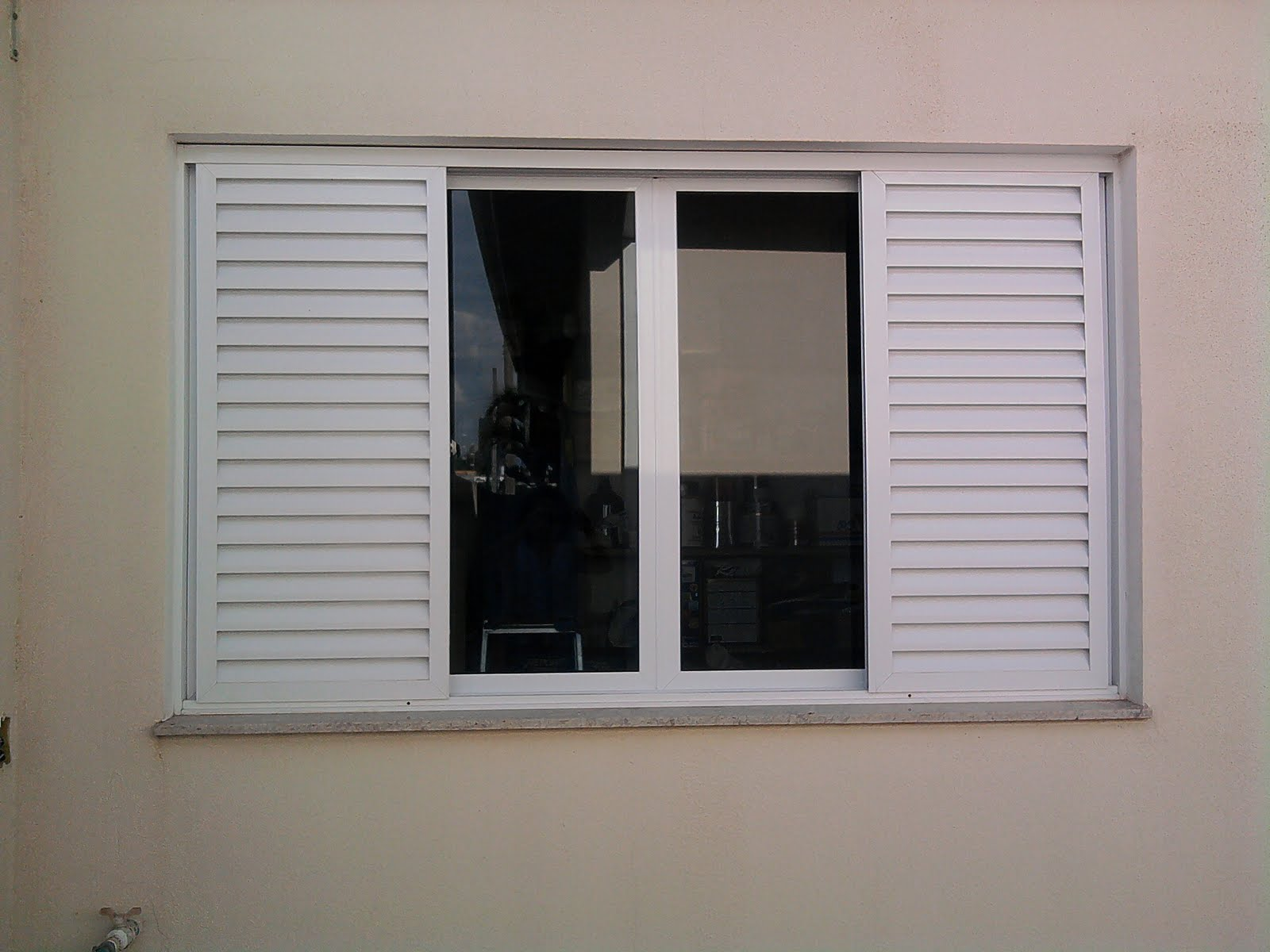 #695E4F  hotmail.com: Venezianas em Alumínio Pintura Eletrostática Branca 4274 Janela Aluminio Branca