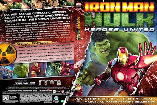 Iron Man e Hulk - Heroes United