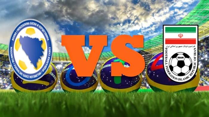 Prediksi Skor FIFA World Cup Terjitu Bosnia vs Iran jadwal 25 Juni 2014