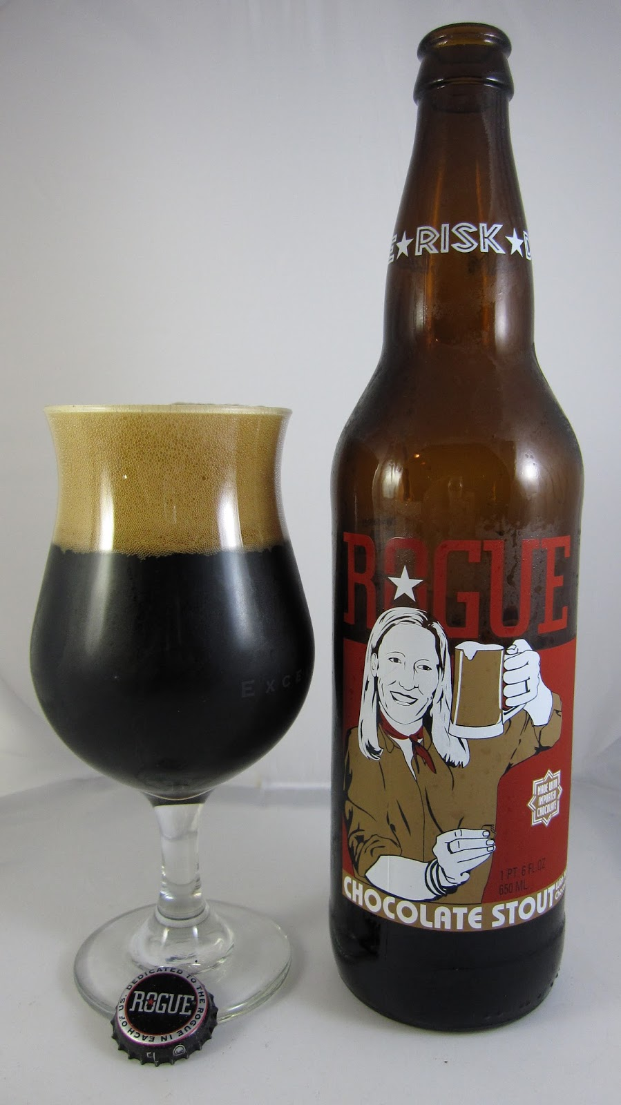 Chad'z Beer Reviews: Rogue Chocolate Stout (2013 re-review)