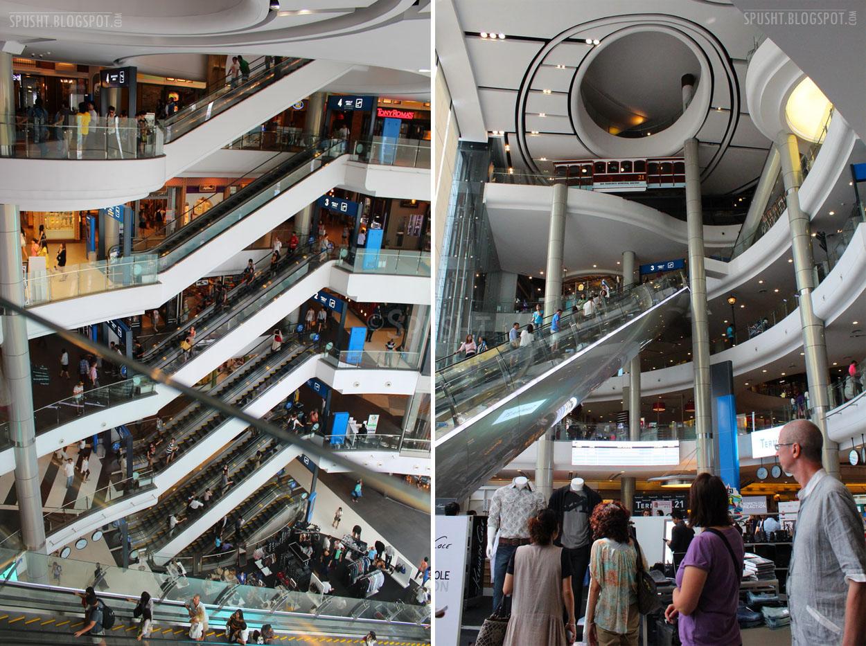 Spusht: Terminal 21 Shopping Complex, Bangkok