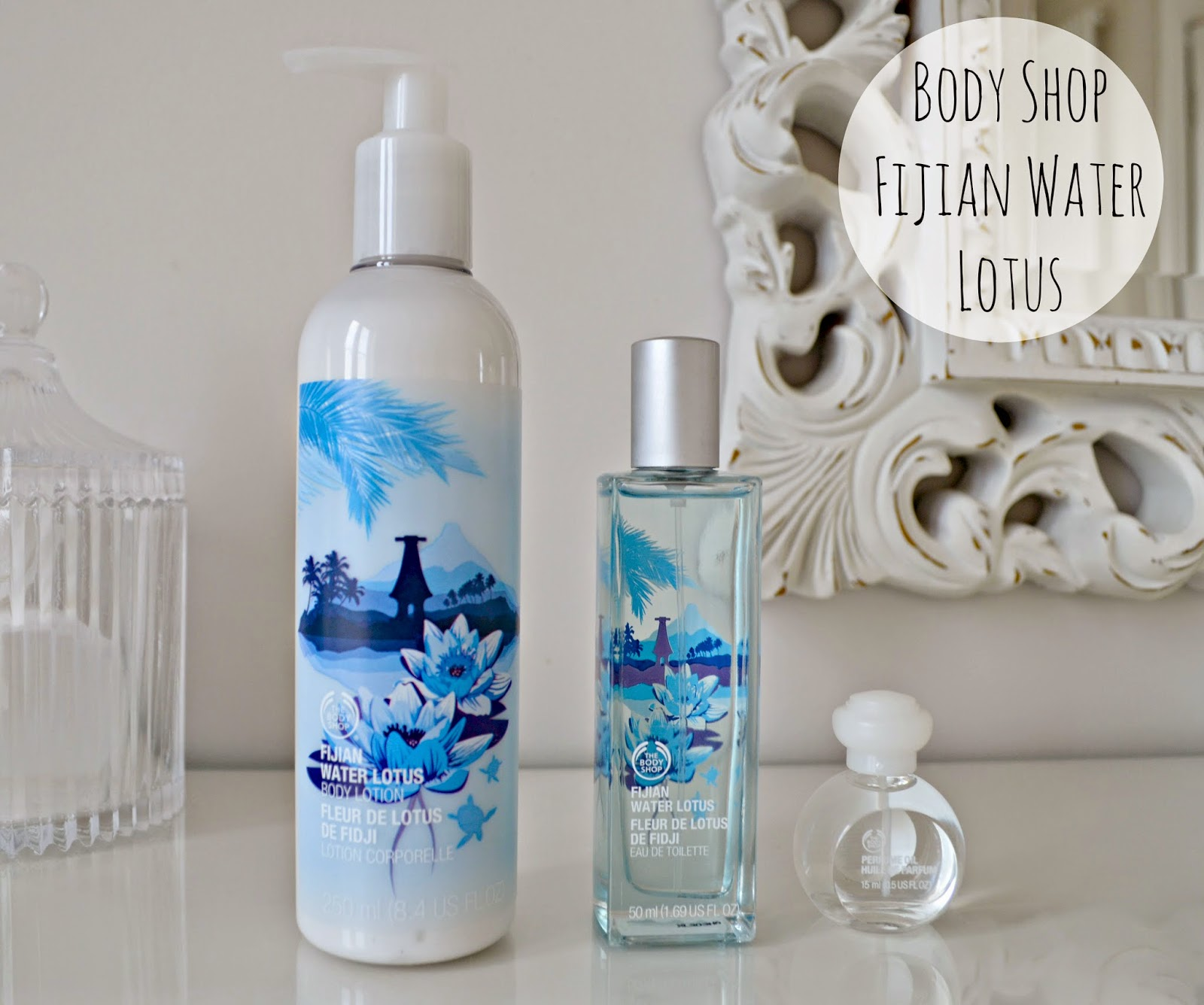 Bodyshop Fijian Water Lotus