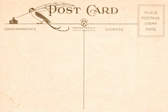 Vintage postcard template images vintage postcard template pronofoot35fo Image collections