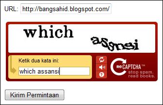 Cara Mendaftarkan Blog di Mesin Pencari Google Cara Mendaftarkan Blog di Mesin Pencari Google